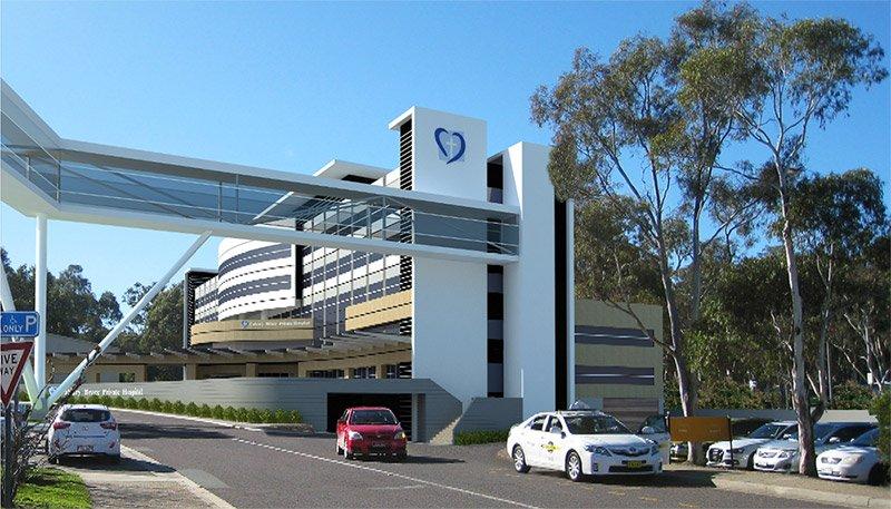 Bruce private hospital visualisation