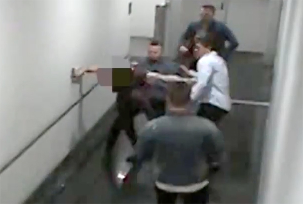 CCTV footage released of assault in the Canberra Centre