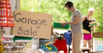 Garage sales in Canberra  Pain or profit?