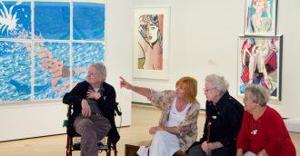 Art appreciation for carers