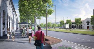 Northbourne Plaza, Alinga St light rail stop designs go to NCA