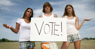 Teenagers     the new threat to democracy?