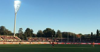 GWS Giants great little hook up with Canberra