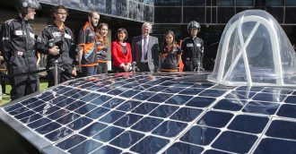 Canberra joins the World Solar Challenge with ANU  8217 s first entrant in epic race