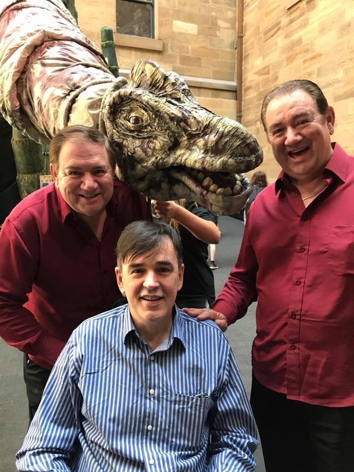 David Willis, Tim Ferguson and Geoff Willis. Photo supplied.