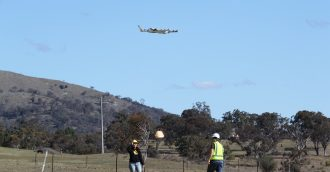 World-first drone deliveries near Canberra