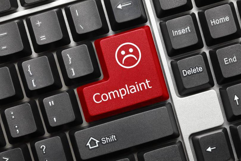 Internet services complaints