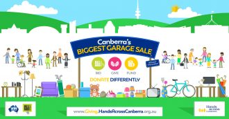 Canberra   s Biggest Garage Sale