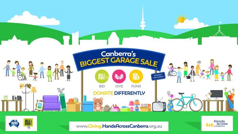Canberra's Biggest Garage Sale