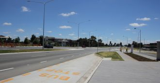 Boost for Belconnen drivers with completion of Aikman Drive duplication