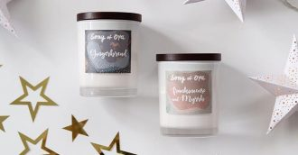 It's starting to smell a lot like Christmas: Song of Oya Candles
