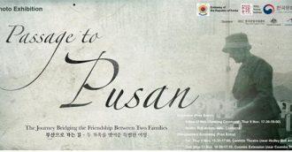 """Passage to Pusan"" tells heartwarming post-war tale, on display at ANU"