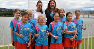 Tennis ACT smashes records as the sport enjoys participation growth