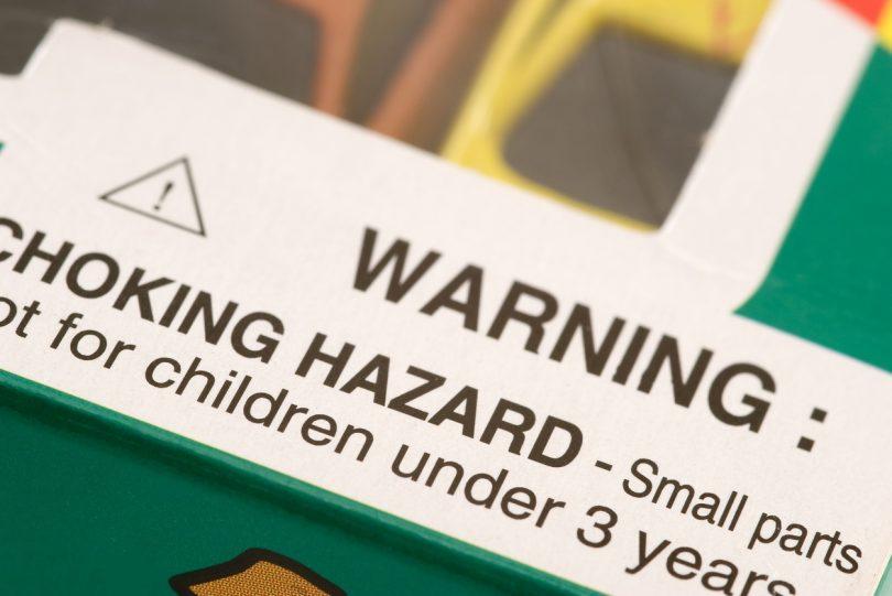 Warning: Choking Hazard