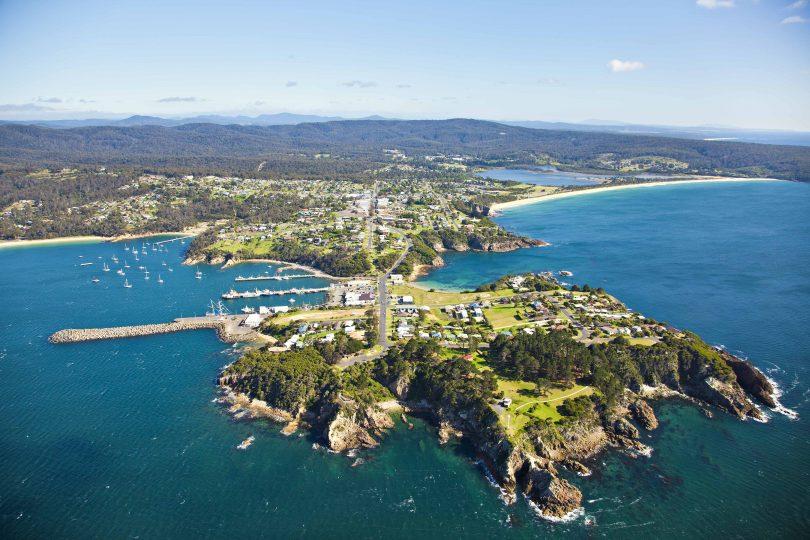 Twofold Bay, Eden. Photo: Sapphire Coast Tourism