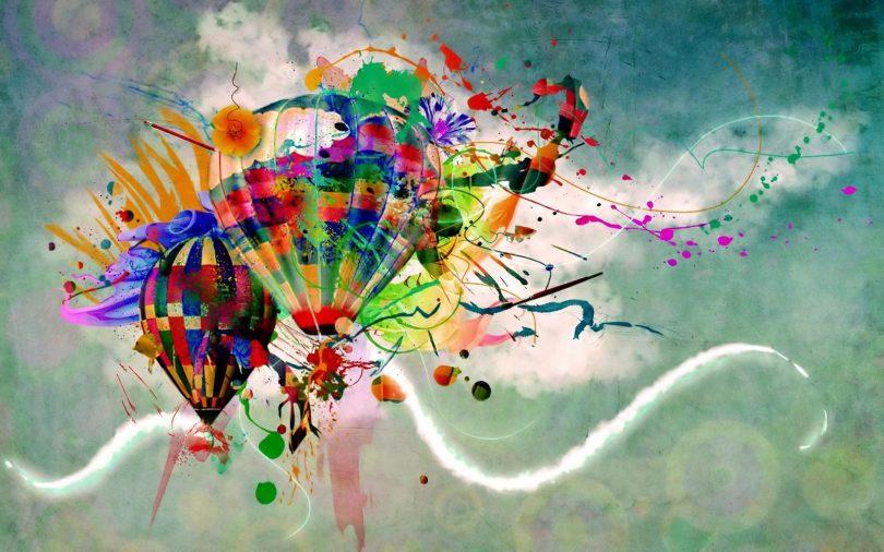 baloon wallpaper.
