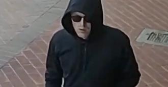 Man caught on camera robbing Subway Manuka at knifepoint