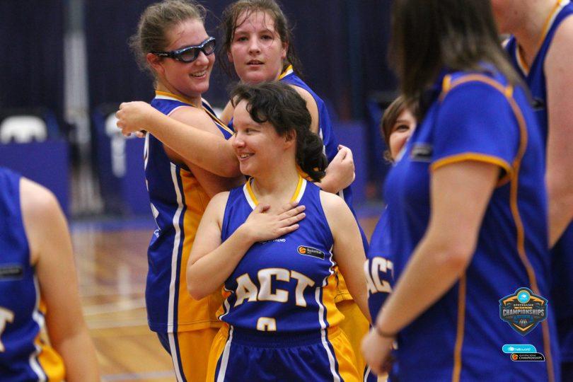 ACT Ivor Burge Women claim silver at Nationals. Photo: Kangaroo Photos.