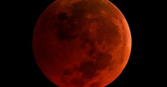 Eclipse once in a blue  red moon