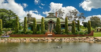 Grand country mansion on 40.5 hectares for sale 90 minutes' drive from Canberra