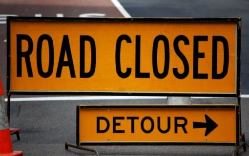 Closures on Federal Highway and Northbourne Avenue for light rail works