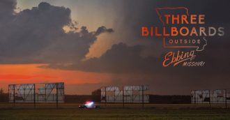 Digital   Dissected  Three Billboards Outside Ebbing  Missouri  2017