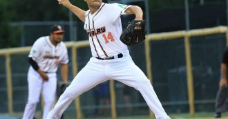 Canberra Calvary pitcher Brian Grening retires from baseball