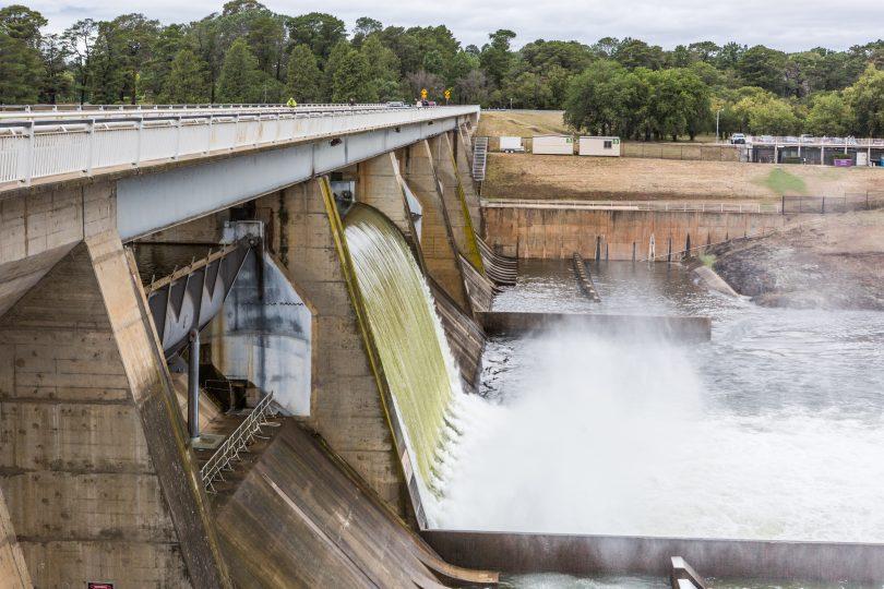 Scrivener Dam.