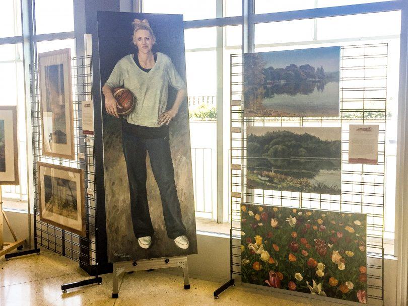 Margaret Hadfield-Zorgdrager's portrait of Lauren Jackson.