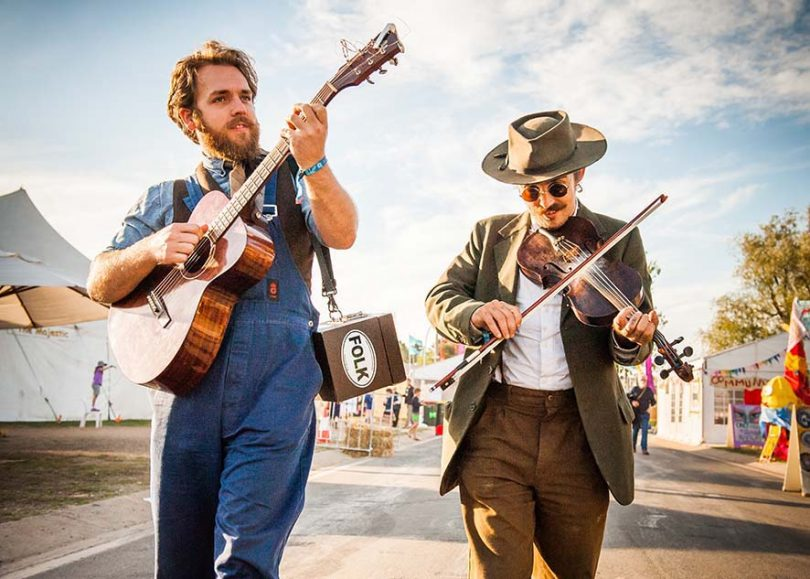 The National Folk Festival at Exhibition Park is only weeks away. Photos: Supplied.