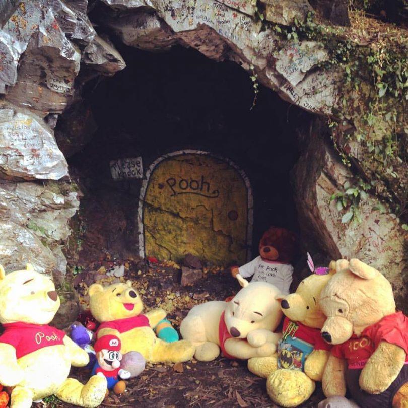 The original Pooh Bear's Corner, west of Batemans Bay on the Kings Highway. Photo: Broulee Beach Cabins Facebook.