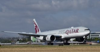 First Qatar Airways flight touches down in Canberra as part of daily service