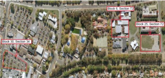 Satelite image of blocks in scandalous Dickson land deals
