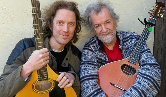 Luke Plumb and Andy Irvine.