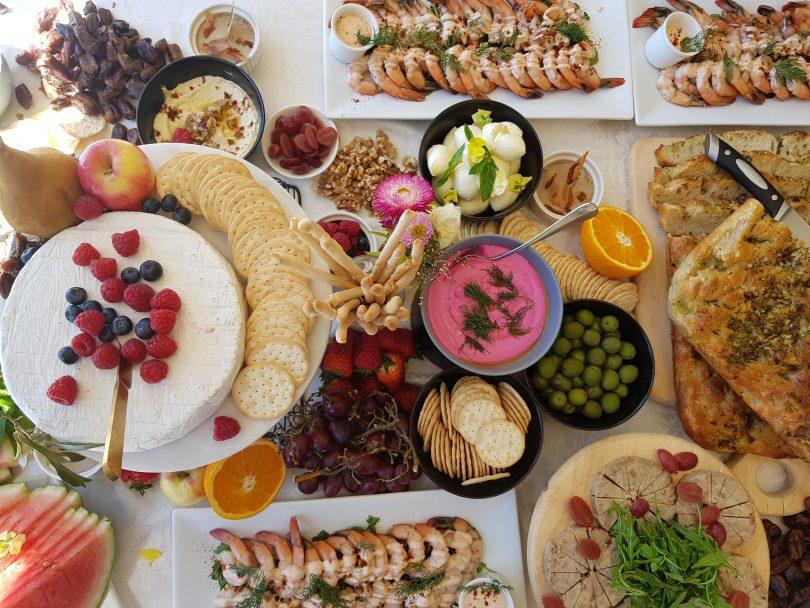 The delicious spread. Photo: Supplied.