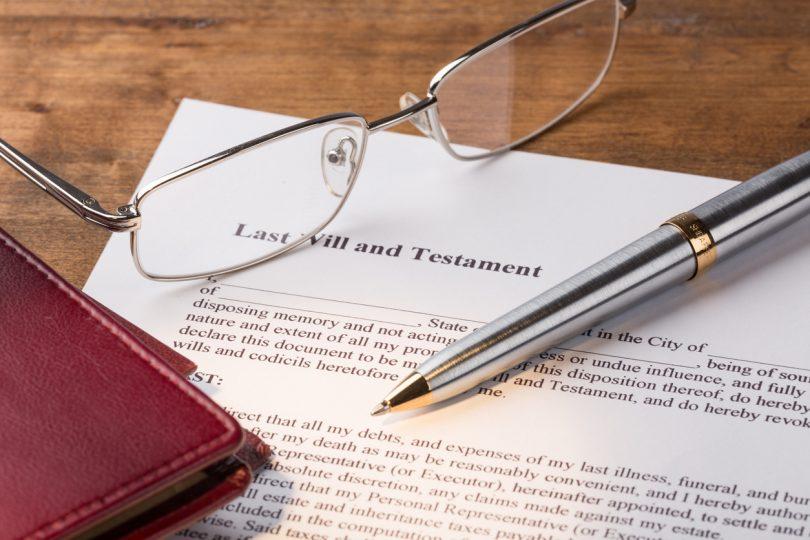 legalities of Wills