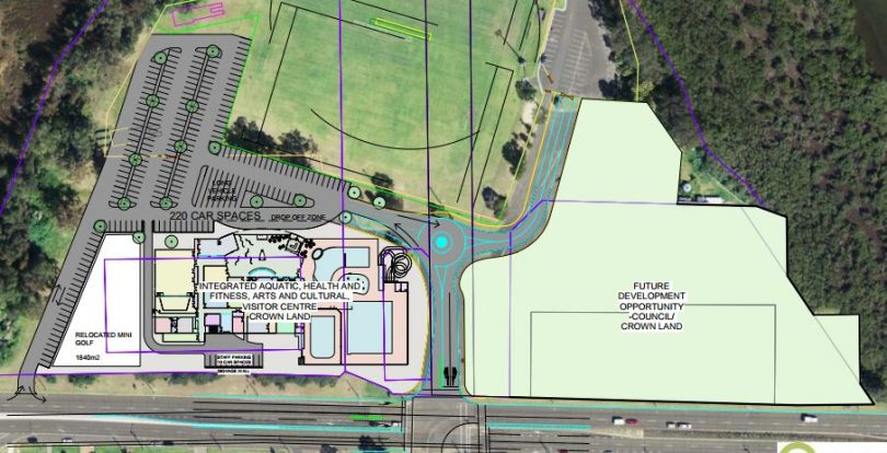 Eurobodalla Mayor Liz Innes is keen to advance Council's plans for a new aquatic and cultural centre for Batemans Bay. Photo: Eurobodalla Shire Council.