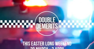 Easter driving blitz with double demerits for speeding motorists