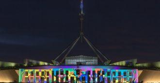 Canberra  8217 s festival of light enchants thousands