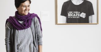 8216 Belco girl  8217  wins National Photographic Portrait Prize