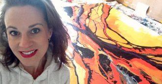 Amy Basnett Art creating positive change