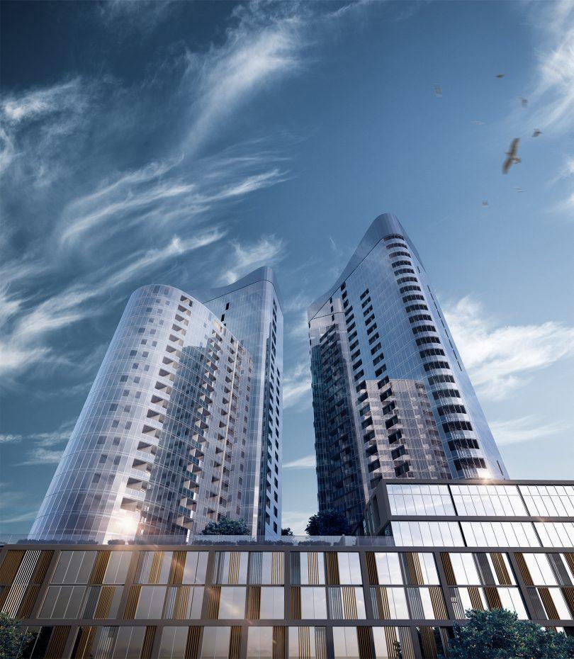 A render of Geocon's Republic development