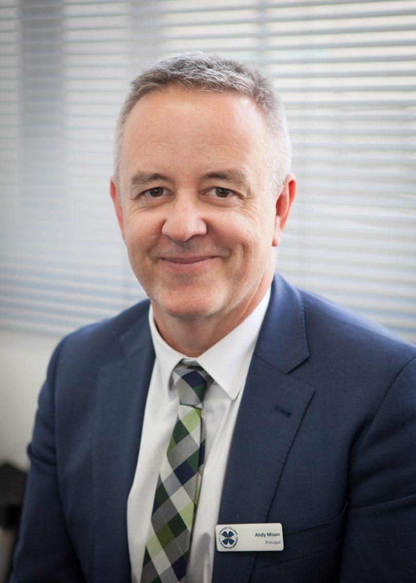 Andy Mison - Principal of Hawker College. Photos: Supplied.