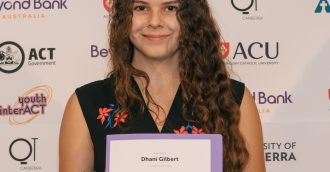 Young Canberra Citizen of the Year Award goes to Indigenous woman committed to community