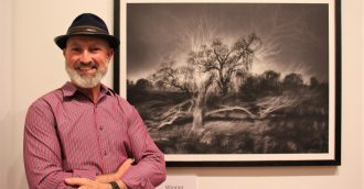 Goulburn Art Award goes to Kelly  8217 s   8216 Ghosts  8217