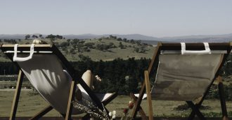 Naked Cubby Co launches glamping option for Canberra wine region