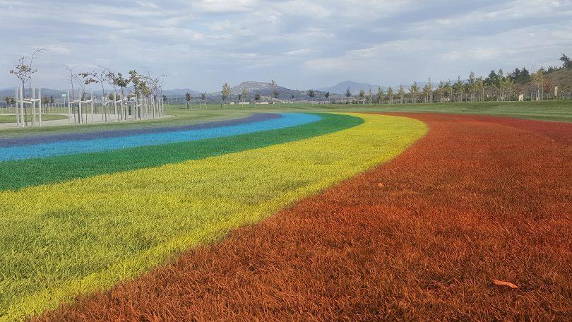 Australia's biggest rainbow