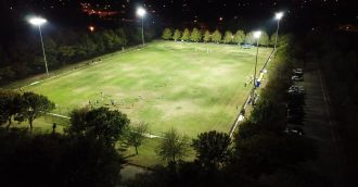 Election promise fulfilled as Calwell playing fields fitted with LED lighting
