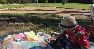 Creating Art with Toddlers: A Q&A with Artist Anne-Marie Jean