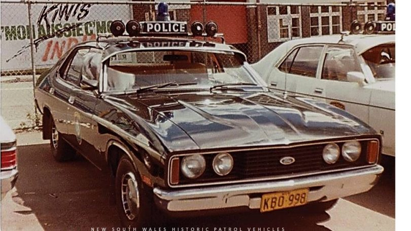 The Ford XR Falcon 1978. Photo: New South Wales Historic Patrol Vehicles Facebook.